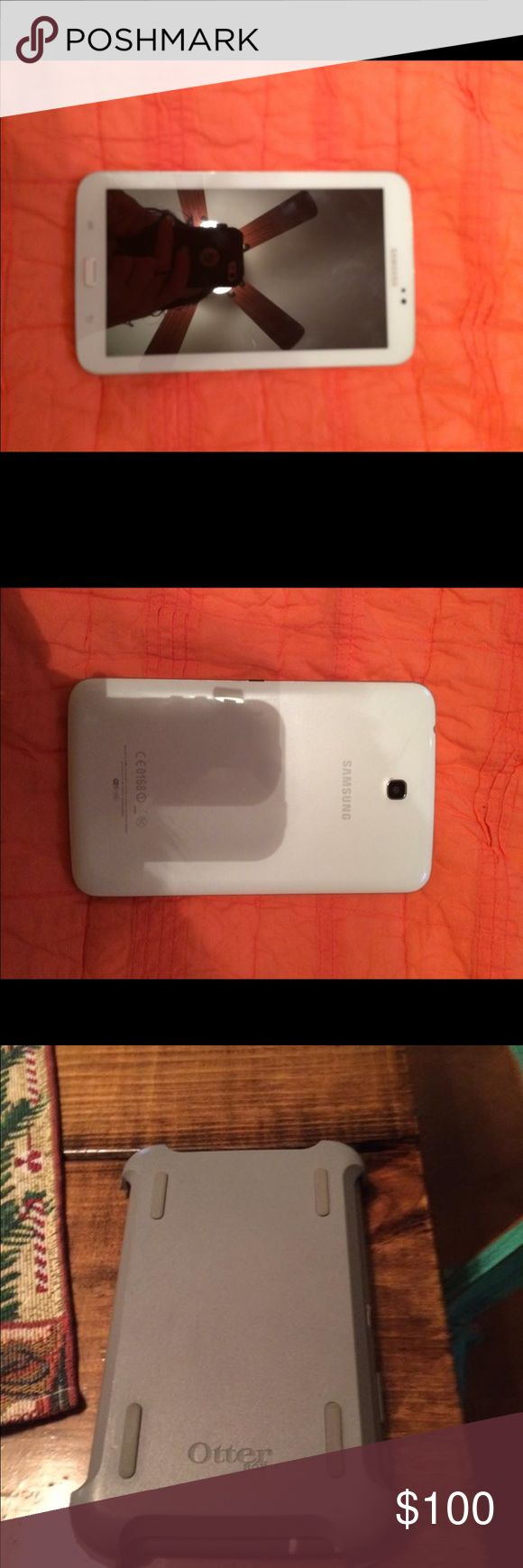 Galaxy note 3 tablet (TRADE) Like new! Comes w/charger & otterbox Other
