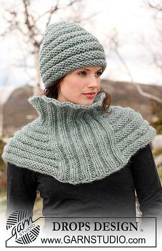 hat and poncho/shawl