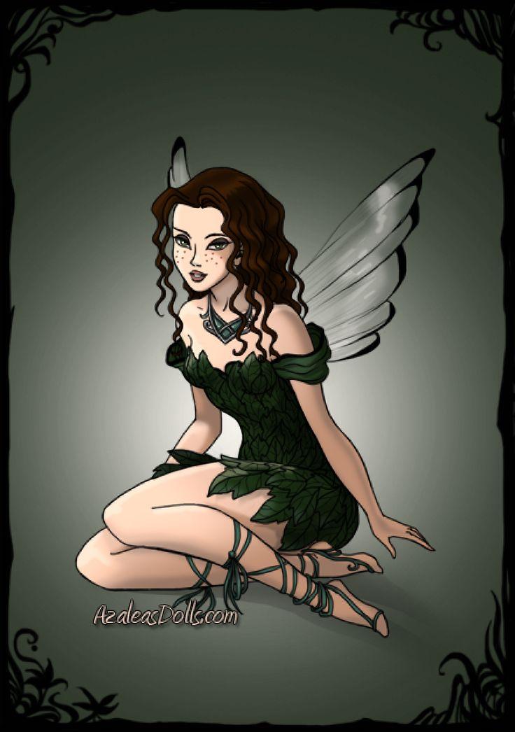 Birthstone Fairies -- Emerald (May)