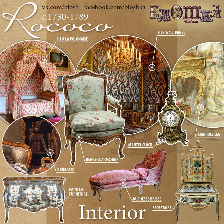 Rococo. Briefly about styles on Behance