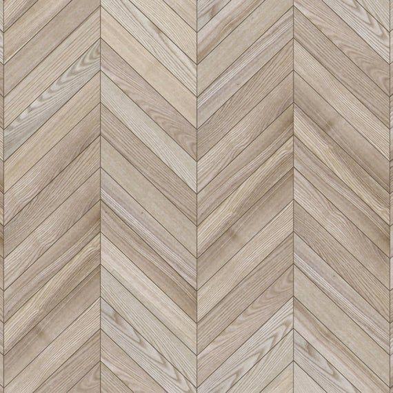 Dollhouse Flooring 1 12 Chevron Light Wood Parquet Miniature Etsy In 2020 Wood Parquet Flooring Wood Floor Texture