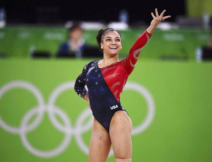 Laurie Hernandez Silver Medal Winner Women's Balance Beam-Rio 2016