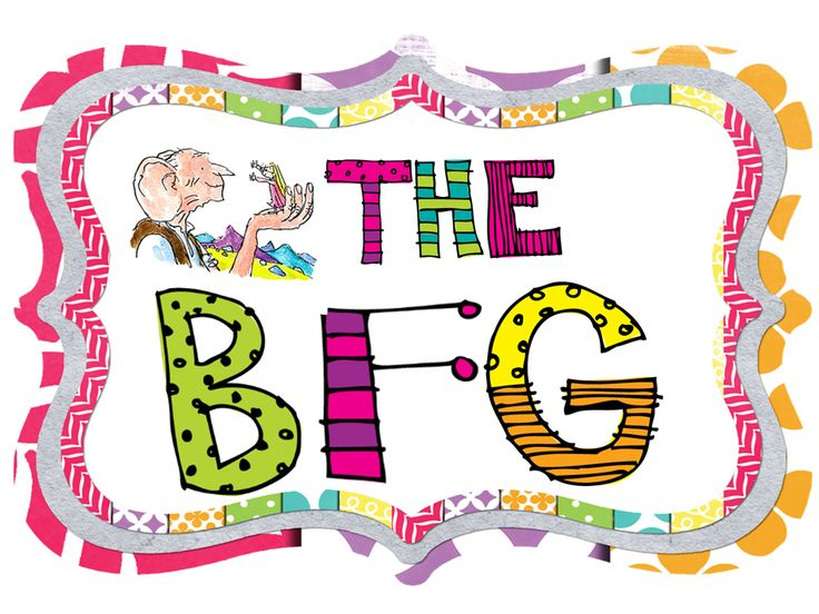 Read the BFG to your class and make a BFG bulletin board!  FREE