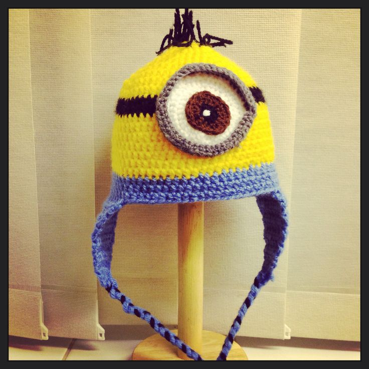 Famoso Knitting Patterns For Minion Hats Imágenes - Manta de Tejer ...
