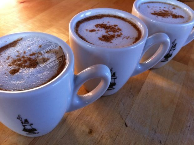 Paleo Pumpkin Spice Latte...zero fake ingredients! This is one of the first recipes I posted on Stupid Easy Paleo over two years ago :) http://stupideasypaleo.com/2011/09/19/pumpkin-spice-latte/ #paleo #pumpkin #fall