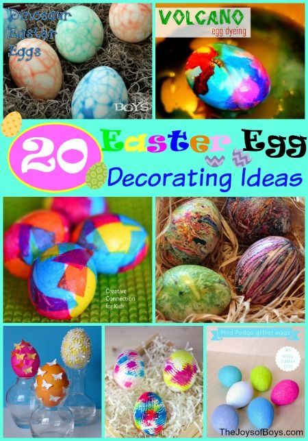 Celebrity decorated eggs for easter