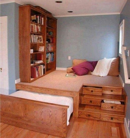 Angolo lettura in camera da letto - Angolo lettura soppalcato