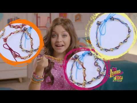 Soy Luna Do It Yourself: Armband maken! | Disney Channel NL - YouTube