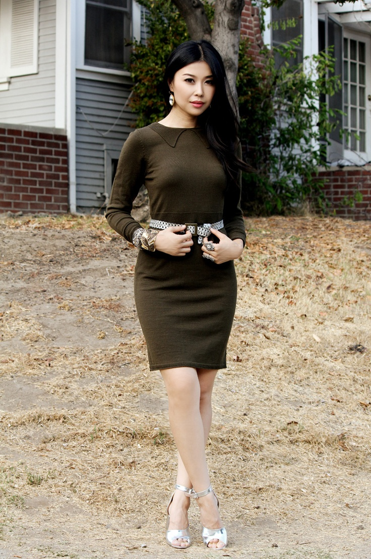 Jenny Wu from Good, Bad & Fab featured in our Fall 2012 knit dress on @Saks Fifth Avenue POVKnits Dresses, Fab Features, Fall 2012, 2012 Knits, Cut25 Fall, Hum Eu Quero, My, Lim Sandals, Avenue Pov