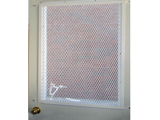 Glassessential expanded metal door grille http