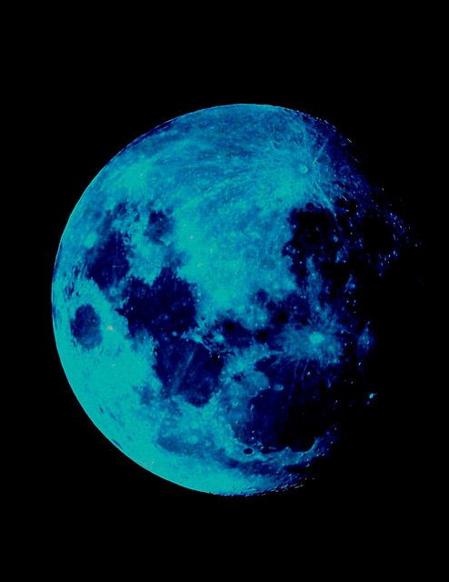 "Today {31/8} is the last Blue Moon until 2015. The term ""blue moon"" refers to the 2nd full moon in one month ~ a rare event."