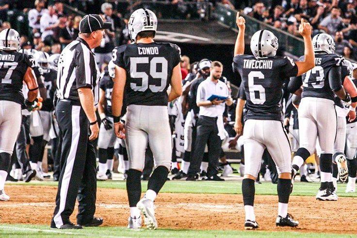 Raiders preseason vs. Rams Oakland Coliseum