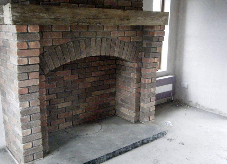 Brick Around Free Standing Cast Iron Fireplaces Brick