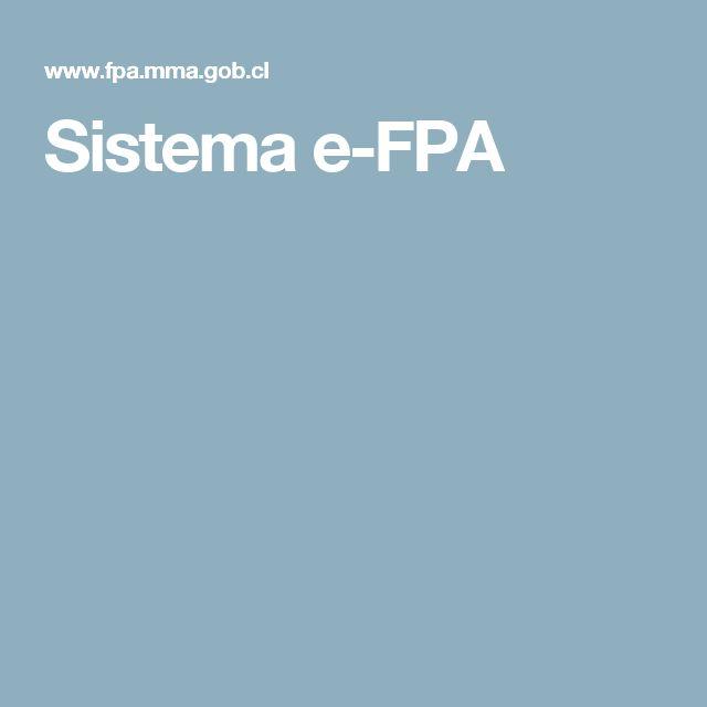 Sistema e-FPA