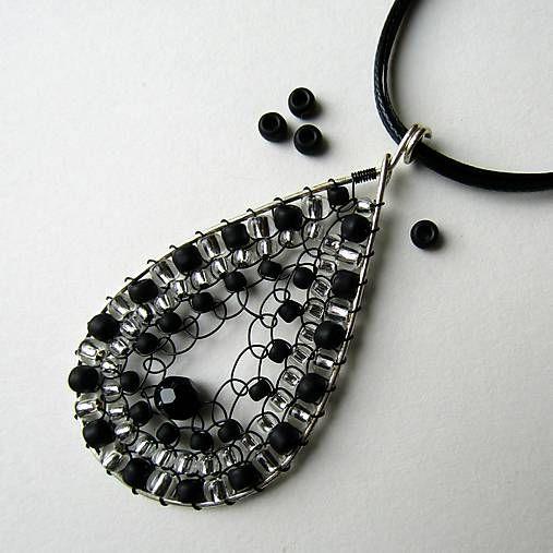 eva55 / Polnočné tajomstvo - náhrdelník