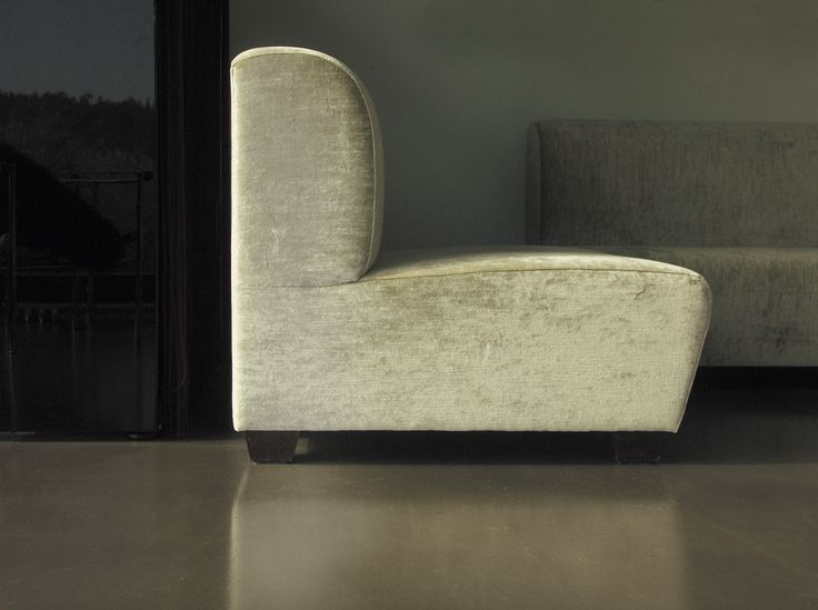 Furniture: The sofa fauteuil collection 'don a', designed by dai brand strategy & design  – simplicity with a twist. The straight back and sharply cut sides create new possibilities for combining various seating landscapes for homes and hotels. The fabric is simultaneously textured and smooth with a slight shine. A blend of practicality, innovation and style.