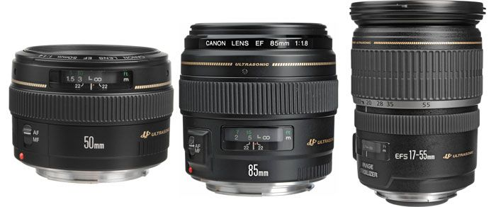 Top Lenses for the Canon Rebel T1i, T2i, T3, T3i, T4i, T5, T5i and SL1