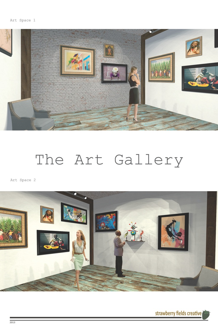 The Art Gallery space