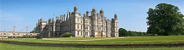 "Burghley House, Lincolnshire. Used as ""Rosings"" in Pride and Prejudice (Judy Dench's house)"