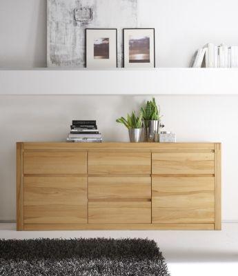 Die besten 25+ Sideboard kernbuche Ideen auf Pinterest Tv möbel - wohnzimmerschrank eiche massiv
