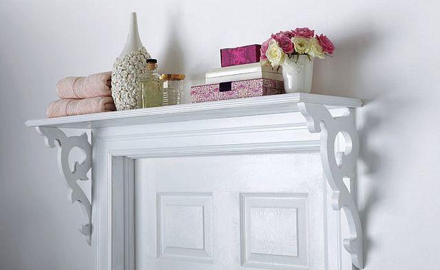 Shelf over door...