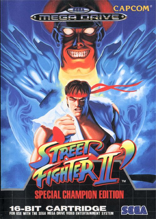 Street Fighter 2 on Mega Drive
