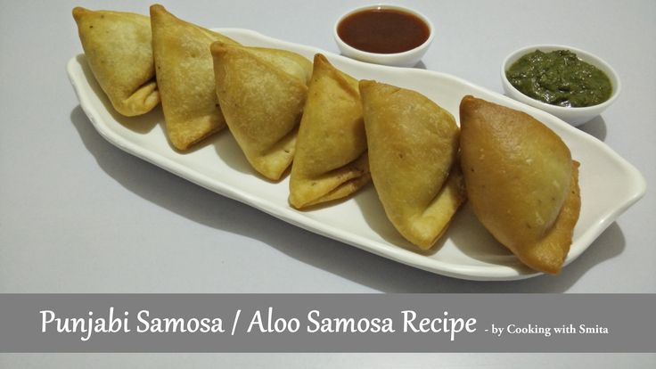 Punjabi Samosa Recipe in Hindi by Cooking with Smita - Aloo Samosa Recipe  Main ingredient of Punjabi Samosa Recipe is Potato (Aloo) and so it's also known as Aloo Samosa.  It is a very popular Indian Snack made from triangular pastry shell with stuffing of Potato, Peas and other spices.