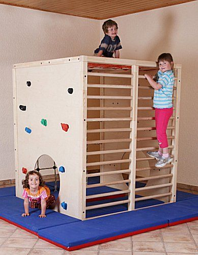 What could be better than caging the children!