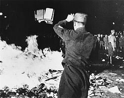 during Guai Miao's reign, reading is forbidden and every book is burned. those who possess books is punished by death