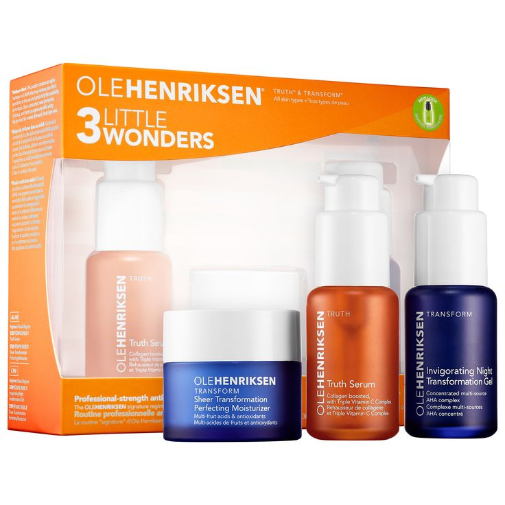 Shop Ole Henriksen's 3 Little Wonders™ at Sephora $72 - recommended by Cupcakes & Cashmere