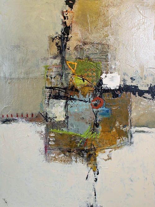 "Bennett Galleries Nashville - John Hyche, ""Alluring""  -  mixed media on canvas, 30"" x 40"""