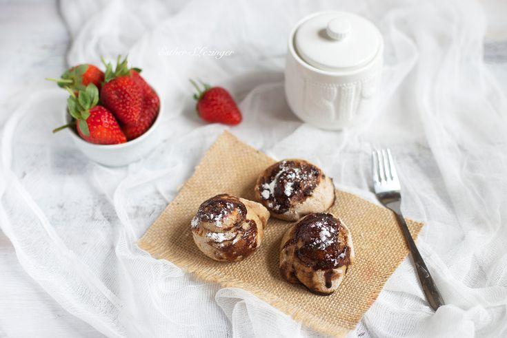Диетические полезные булочки улитки с корицей и изюмом | Рецепты правильного питания - Эстер Слезингер