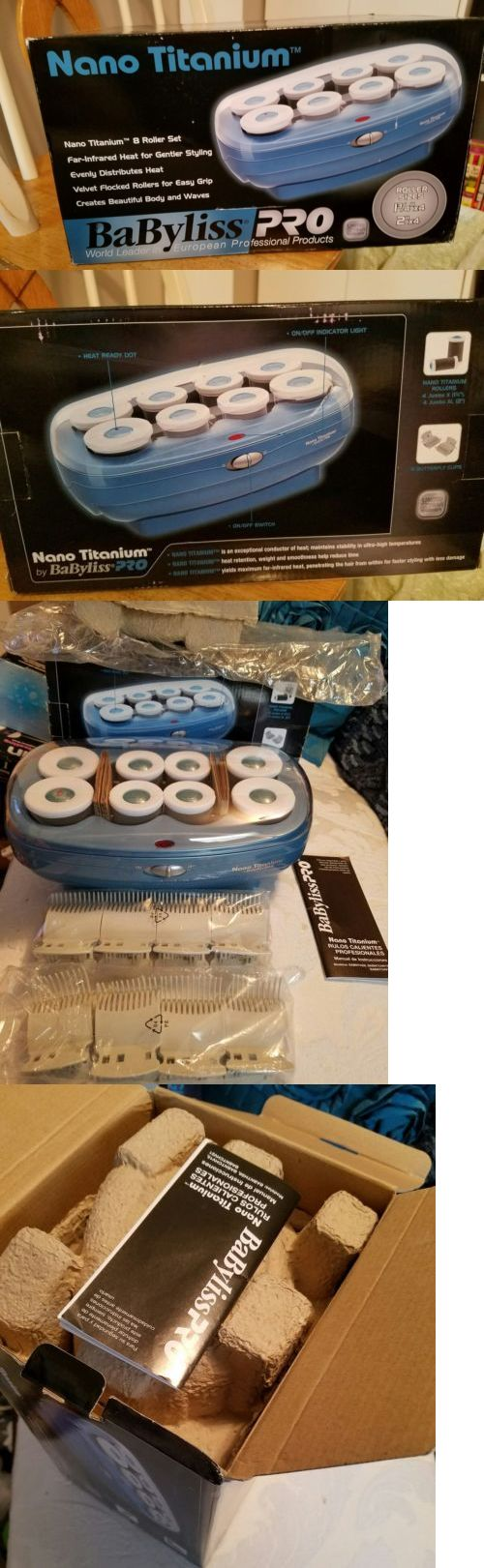 Rollers and Curlers: Babyliss Pro Nano Titanium 8 Roller Set World Leader In European Prof.Products -> BUY IT NOW ONLY: $30 on eBay!