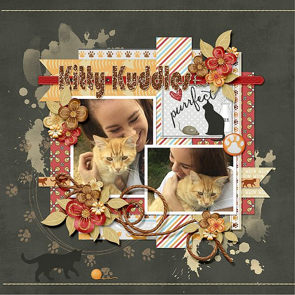 Lindsay Jane Designs_KittyCat http://store.gingerscraps.net/Kitty-Cat-by-Lindsay-Jane.html   Chase the Sun Template by Connie Prince http://store.gingerscraps.net/Chase-The-Sun-12x12-Templates-CU-OK.html