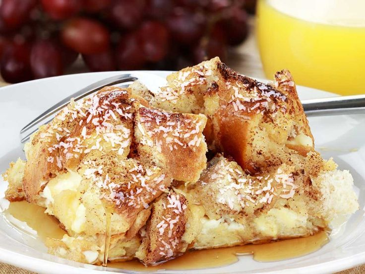 Did you know Silk® has a ton of tasty recipes, like  this one for Coconut Bread Pudding? http://silk.com/recipes/coconut-bread-pudding
