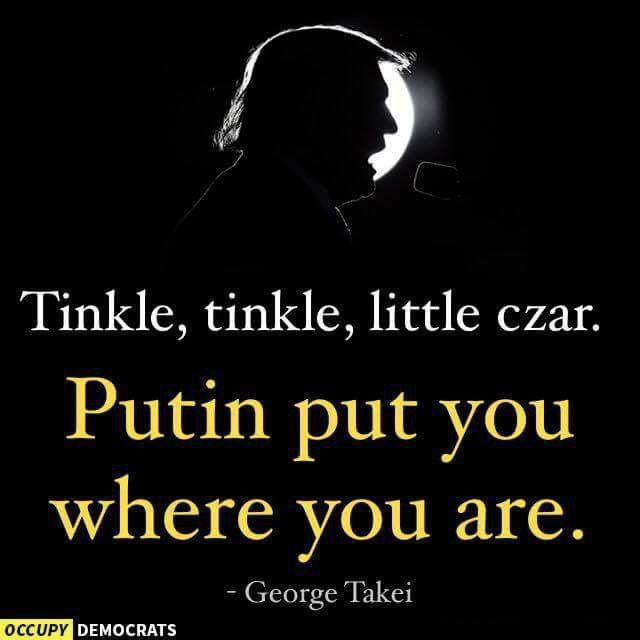 Tinkle, tinkle little czar, how I wonder what you are.