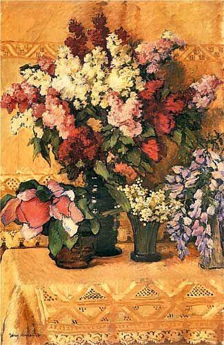 Józef Mehoffer - Kwiaty, 1912