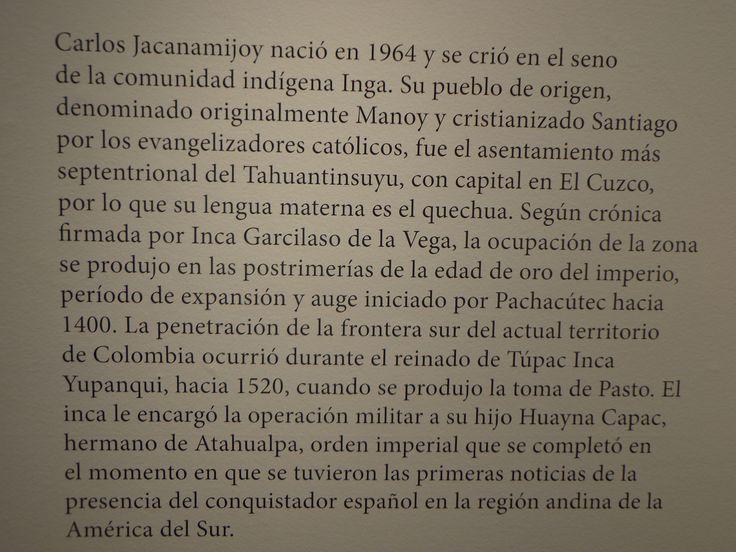 Biografia de Carlos Jacanamijoy
