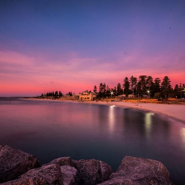 Dreaming of a summer evening sunset at Cottesloe Beach. Thanks for taking us back there @waggz7 #thisisWA