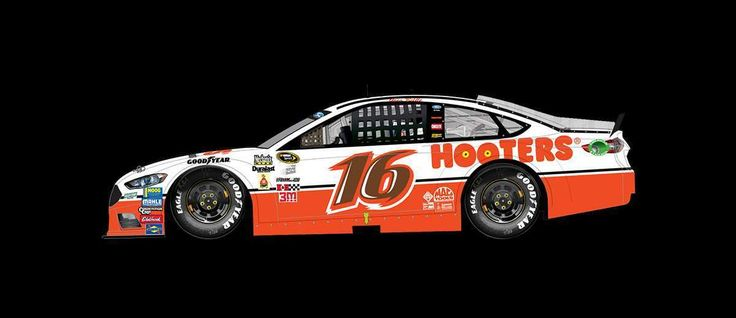 Best paint schemes of 2016  By Jessica Ruffin | Wednesday, December 14, 2016  Greg Biffle drove the No. 16 Roush Fenway Racing Ford to a 36th-place finish at Darlington in September.