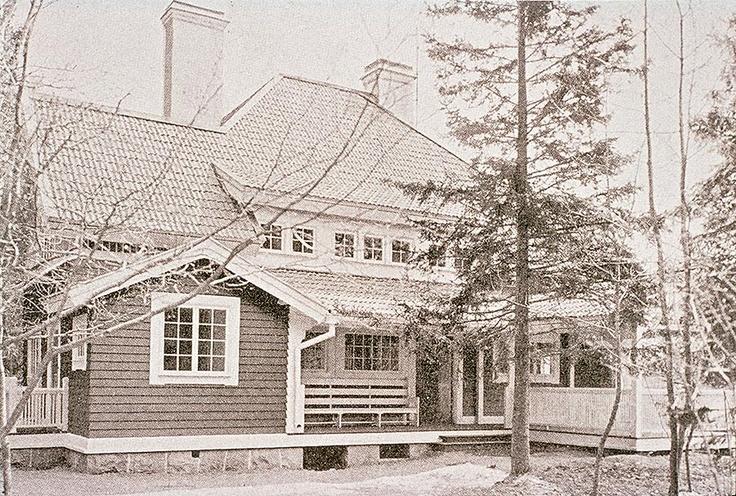 Pressens Villa i Saltsjöbaden (Carl Westman)  AN-17425