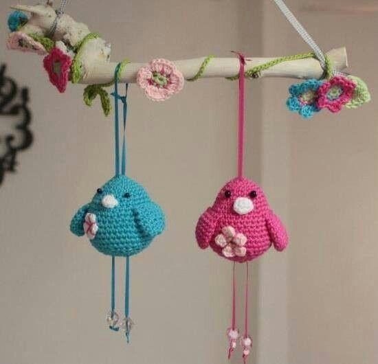 Movil a crochet