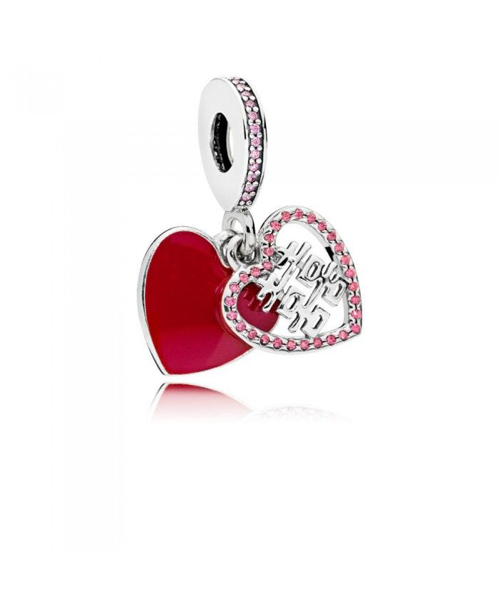 822708dd1 Pandora Double Happiness Heart Hanging Charm Sale | pandora uk outlet sale  | Pandora charms, Pandora charms clearance y New pandora charms