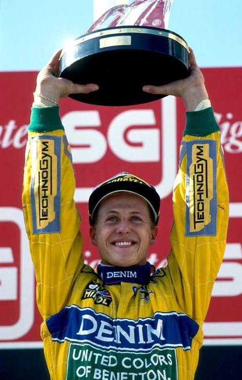 Michael Schumacher, Camel Benetton-Ford B193, 1993 Portuguese Grand Prix, Estoril