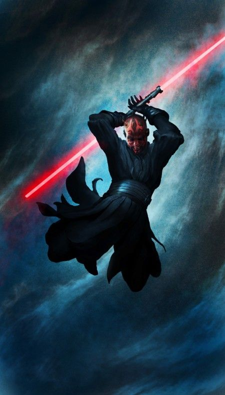Star Wars - Darth Maul by Torstein Nordstrand