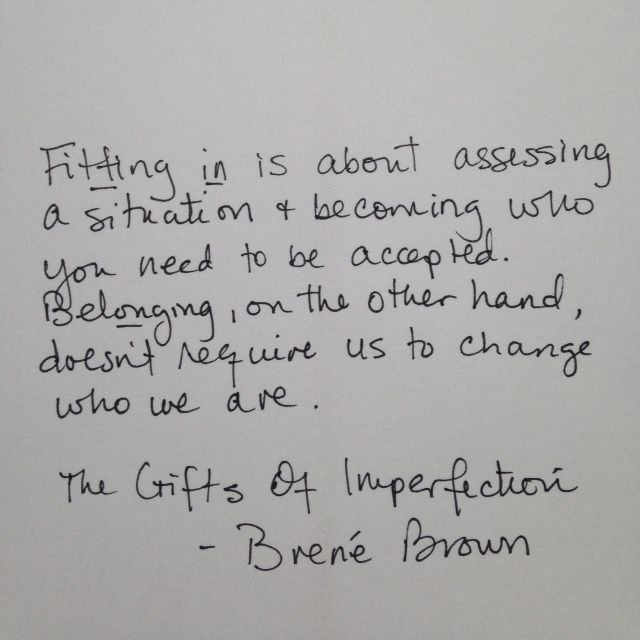 Best 25 the gift of imperfection ideas on pinterest brene brown brene brown quotes google search negle Images