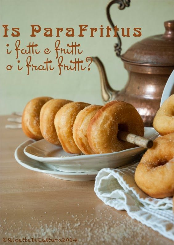 Ricette di Cultura: Para frittus, from Sardegna, Italy