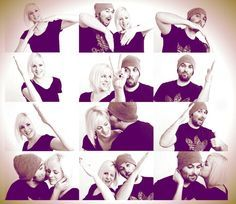 Photoshoot ideas for couples. Poses for couples. Photography family picture ideas