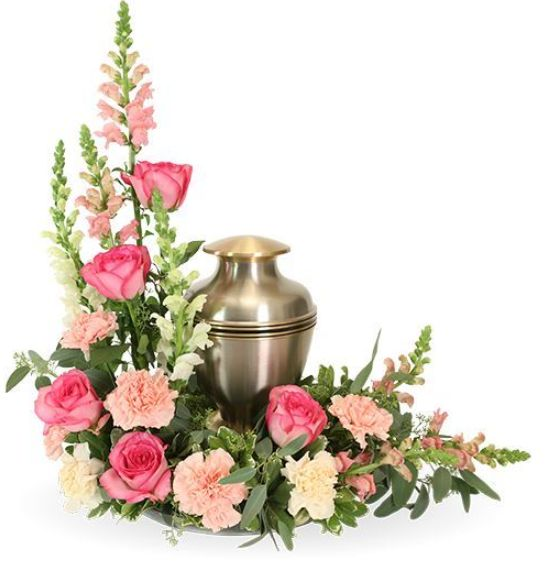 Love and Respect is just one of the many funeral floral arrangements available on Frazer Consultants' Tribute Store, an online flower store available on all Frazer-powered funeral home websites.