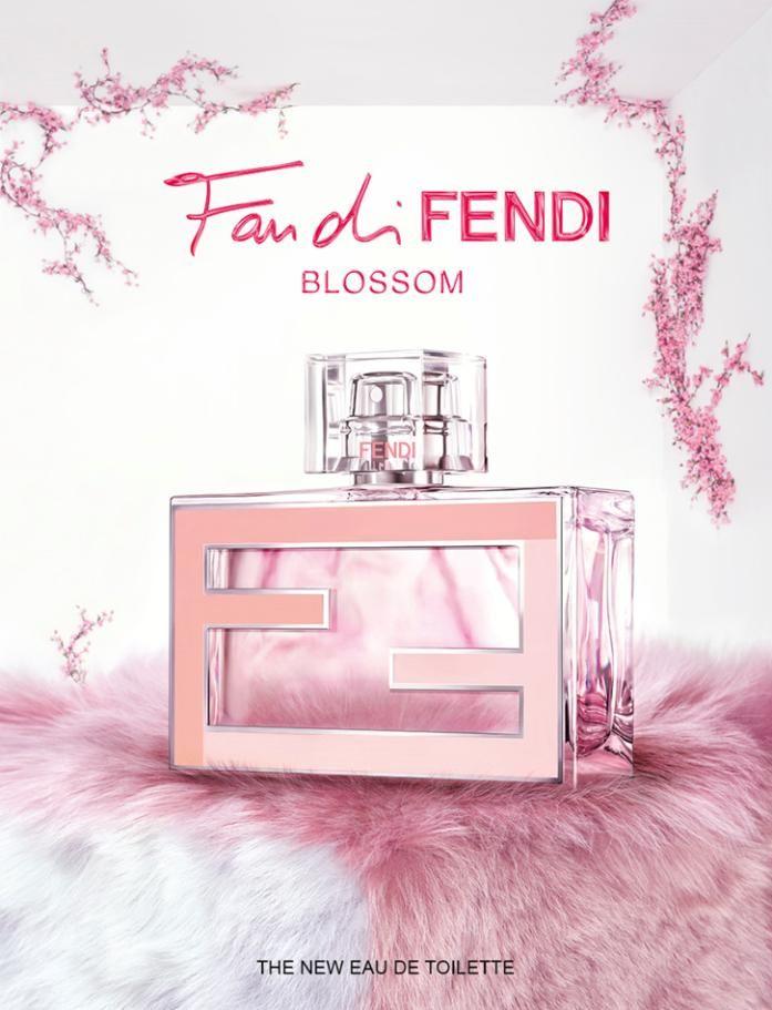 Fan di Fendi Blossom вдохновлен весной и цветущей вишней.